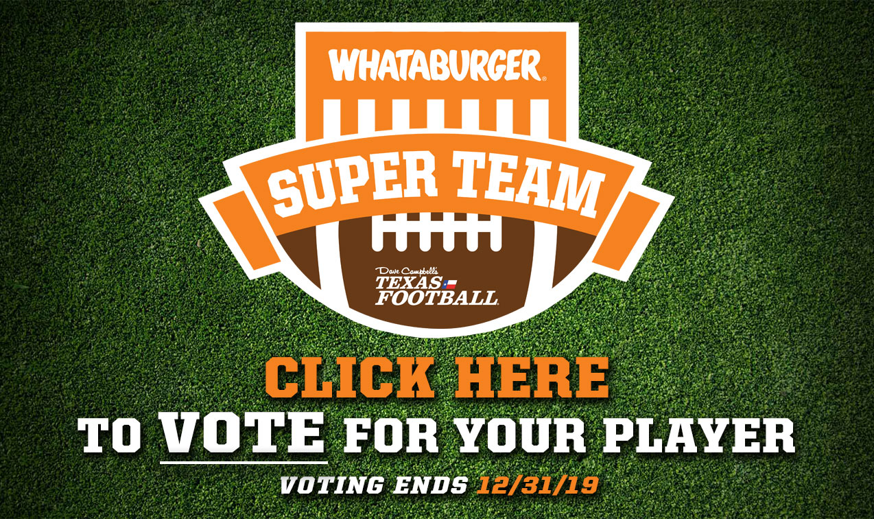 Vote for the 2019 Whataburger Super Team